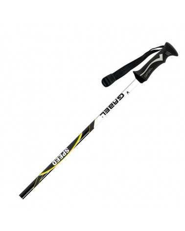 Speed Yellow Gabel aluminium ski poles