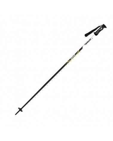 Speed Yellow Gabel aluminium ski poles