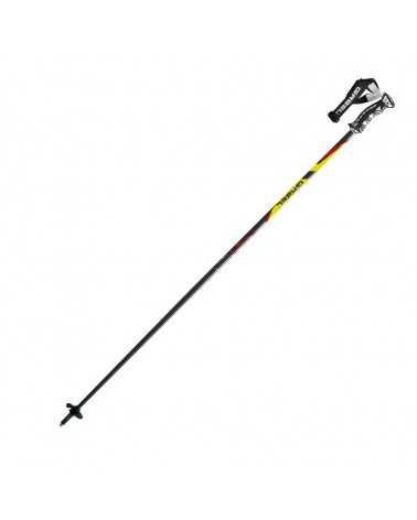 HS-R Yellow bastoncini Gabel da sci con passamano World Cup Click