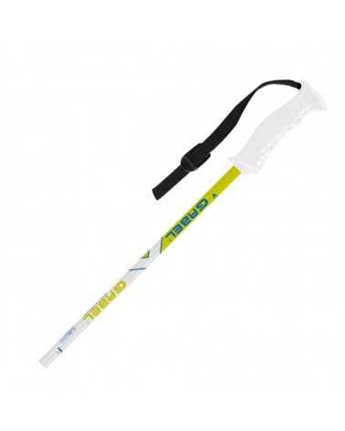 CVJ White/Green  Gabel Ski Poles Junior line