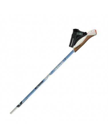 X-3 White Gabel Nordic Walking poles carbon 50