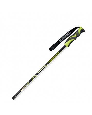 CVX Black/Lime  Bâtons de ski  Gabel d'aluminium 700814007