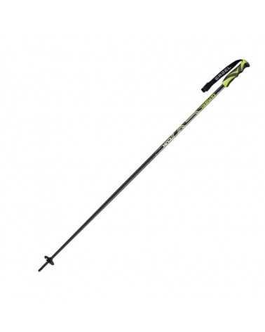 CVX Black/Lime Gabel aluminum ski poles 700814007
