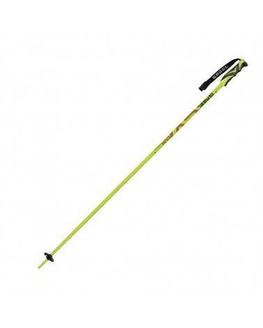 CVX Lime/Black Gabel aluminum ski poles 700814003