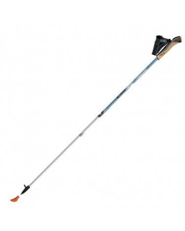 X-5 WHITE Bastoncini Gabel da nordic walking in carbonio 85