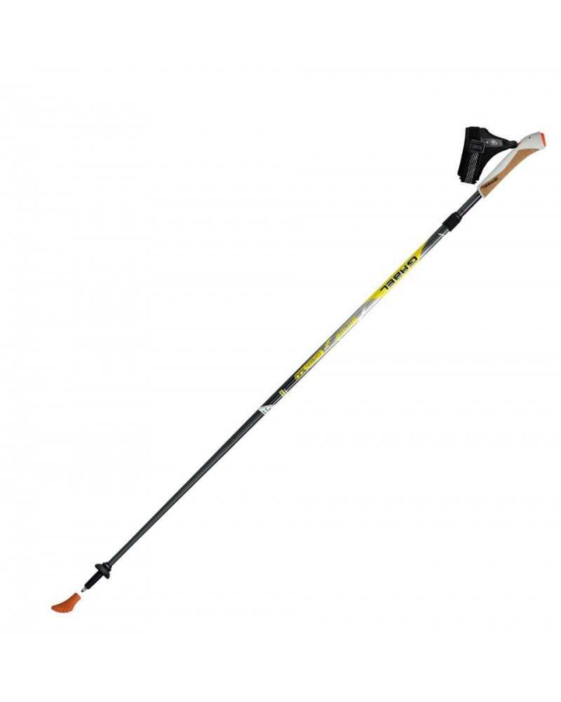 Inverso Ca Nordic Walking palos Gabel Snake Carbon