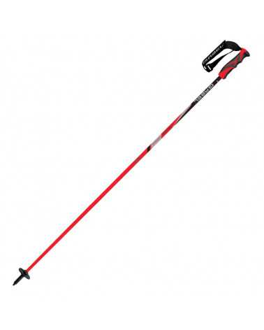 Carbon Cross Red bastoncino da sci Gabel in carbonio