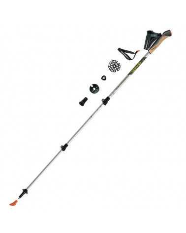 FUSION CORK-TECH Sticks Gabel for Trekking, Snow Shoes, Alpine Touring, Alpine Ski, Back Country