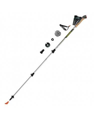 FUSION CORK-TECH Sticks Gabel für Trekking, Snow Shoes, Alpine Touring, Alpine Ski, Back Country