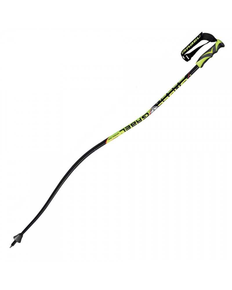 Gabel-Skistöcke aus DH-Abfahrt und Super-G-Weltcup-Modell.