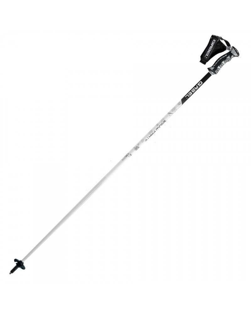 SNOW PARTY - Gabel ski poles in aluminum