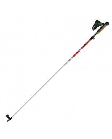 NORDIC VARIO ALU/TECH F.L. - Gabel cross-country skiing telescopic poles in aluminum