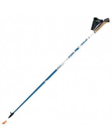 X-5 (White) - Gabel nordic walking poles in carbon