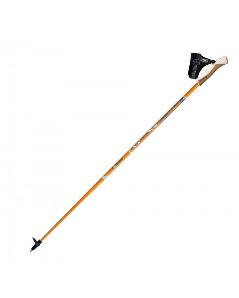 X-3 Orange poles Gabel Nordic Walking carbon
