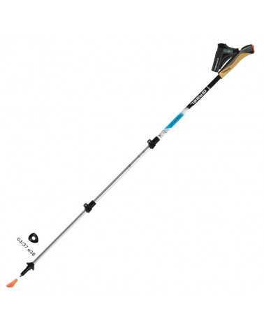 TOUR XT F.L. - Gabel telescopic poles for nordic walking