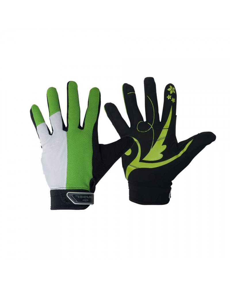 Gabel Expert Green gloves Nordic walking sports and fitness.