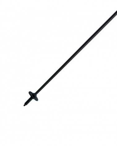 Carbon Cross Black bastoncino da sci Gabel