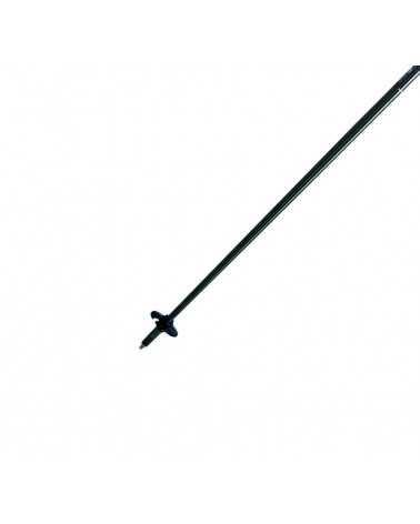 HS-R (red) - Gabel ski poles in aluminum