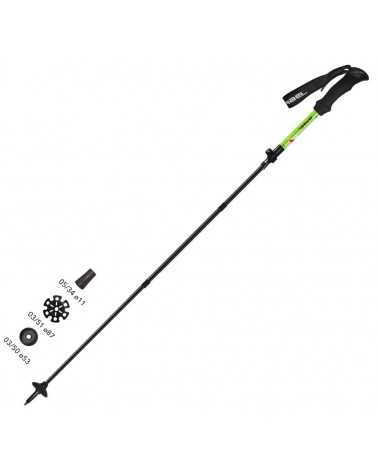 XTR ALU, gabel trekking poles wired tecnology 700839270