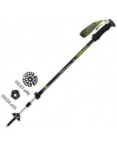 ESCAPE XT F.L.-A.I.  Sticks Gabel für Trekking, Snow Shoes, Alpine Ski, Back Country