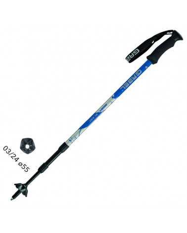 MONT BLANC BLACK Sticks Gabel für Trekking, Snow Shoes, Alpine Ski