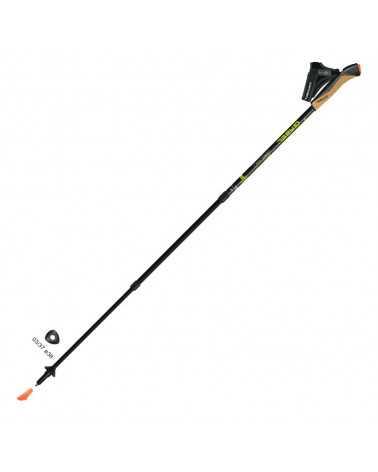 Carbon XT 3S-100 bastoncini Gabel da Nordic Walking in carbonio linea Extensible/Performance