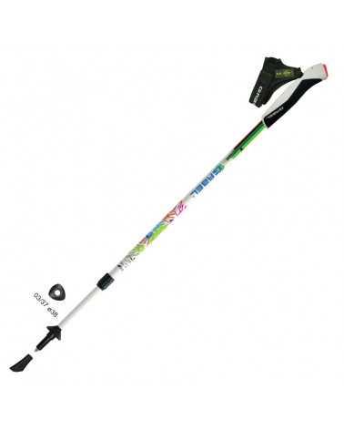 Nordic Energy Gabel Nordic Walking poles extensible sport