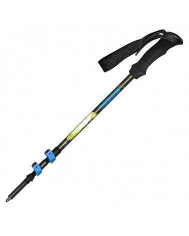 VERTIGO LITE F.L. XTS (lime) - Bâtons de trekking extensibles en aluminium Gabel