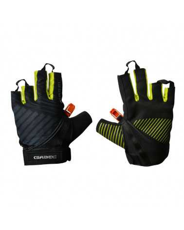 GLOVE ERGO LITE N.C.S. YELLOW - Guanti capacitivi multiuso per Nordic Walking