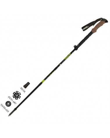 FR-5 FL LITE XTL - Gabel faltbare stöcke für skitouren und trekking