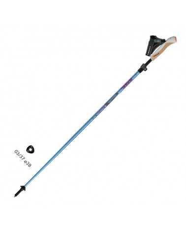 NORDIC TECH F.L. 110-125cm bastoncini Gabel da Nordic Walking in carbonio linea Performance
