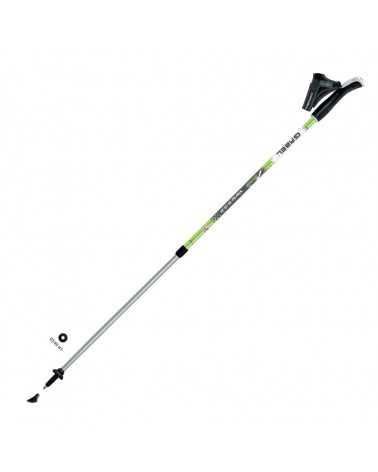STRIDE VARIO S-9.6 GREEN  Bastoncini Gabel da nordic walking  sport
