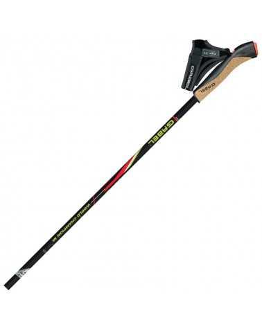 FX-75 W.C.M. WORLD CHAMPION EDITION - Gabel nordic walking poles in Snake Carbon