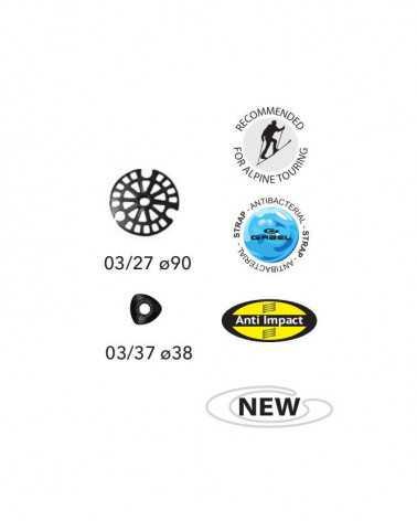 Escape Carbon  XT Tour A.I. - Bâtons télescopiques Gabel pour le trekking et le ski de randonnée