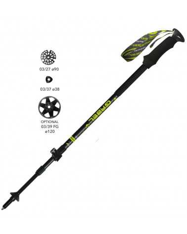 Escape Carbon  XT Tour A.I. - Gabel telescopic poles for trekking and skitouring