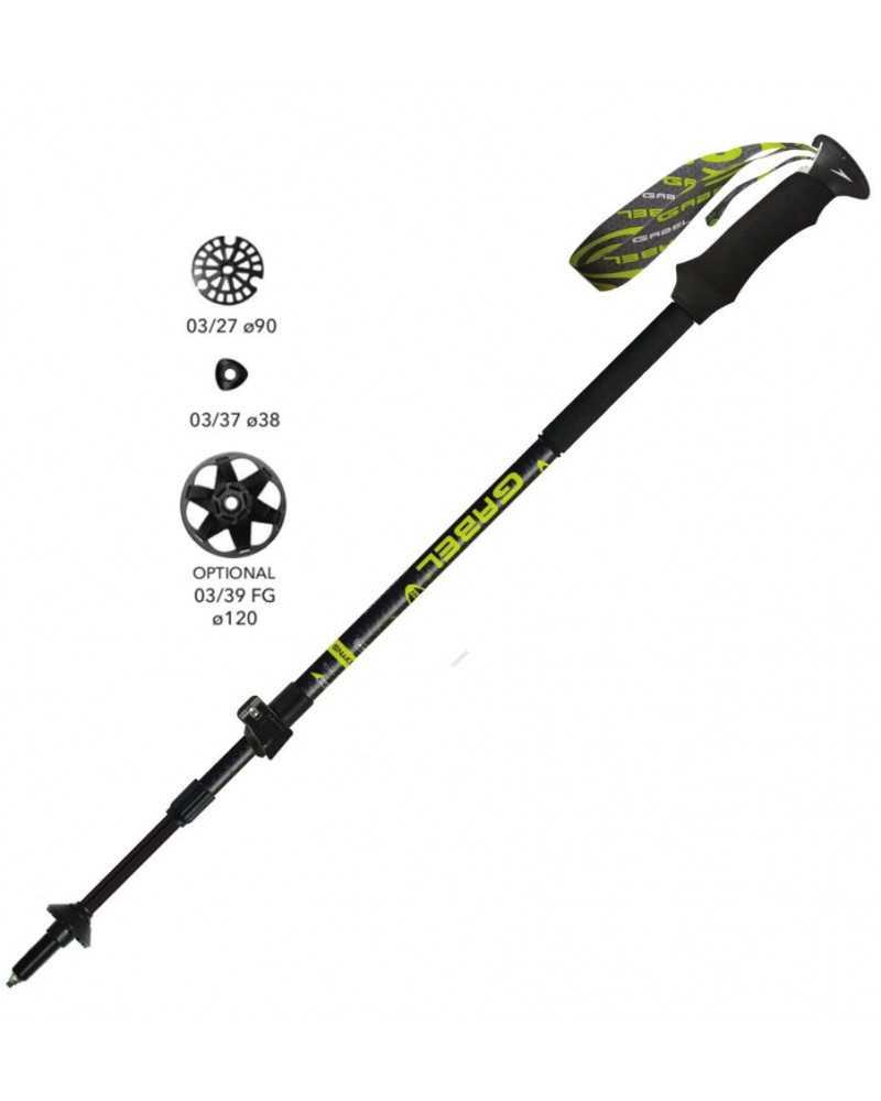 Escape Carbon  XT Tour A.I. - Gabel teleskopstöcke für trekking und skitourengehen