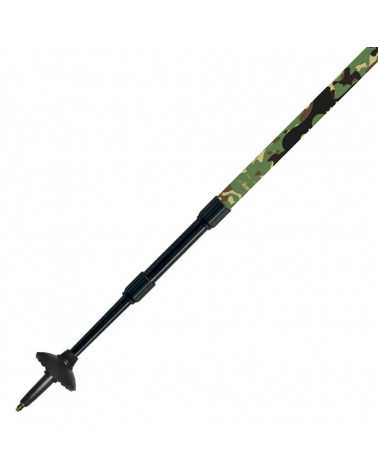 XW PHOTO CAMO - Gabel trekking poles with camera support