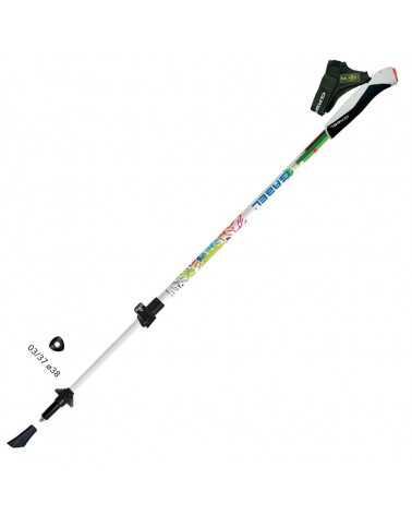 NORDIC ENERGY F.L. - Bastones extensibles Gabel para nordic walking (modelo junior)