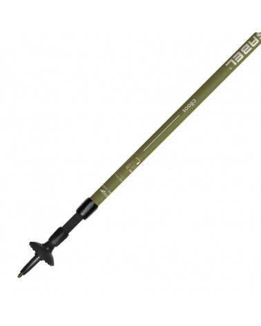 CILAOS A.S. (Olive) - Gabel telescopic poles for trekking