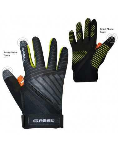 ERGO PRO N.C.S. YELLOW - Multifunctional gloves for Nordic Walking