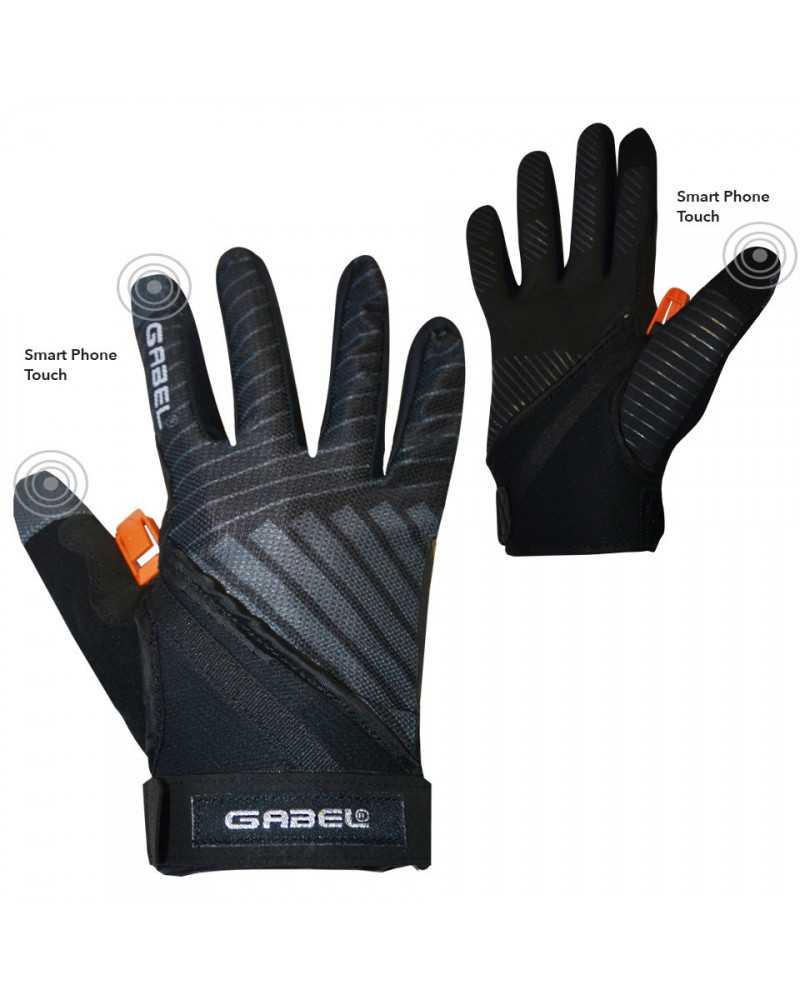 ERGO PRO N.C.S. GREY - Multifunctional gloves for Nordic Walking