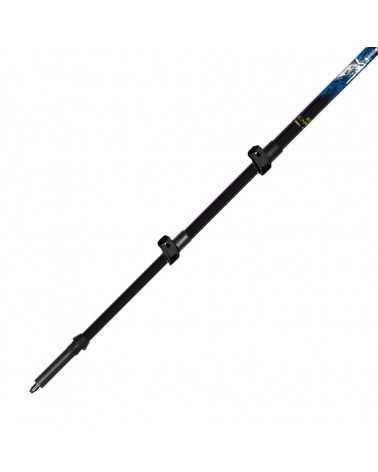 EQUIPE CARBON FL (BLUE) - BastonciniEQUIPE CARBON FL XTL (antra) - Gabel telescopic trekking poles in carbon and  aluminum