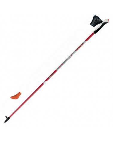 X-5 BLK/RED Gabel Nordic Walking poles carbon