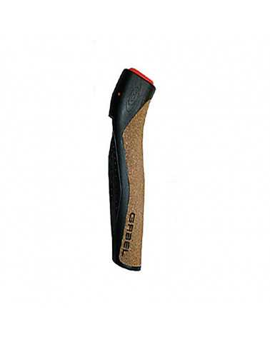 Impugnatura Gabel Nordic Walking Dual Cork 01/37 Black diametro 14