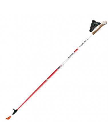 X-3 Red bâtons Gabel de marche nordique carbone 50