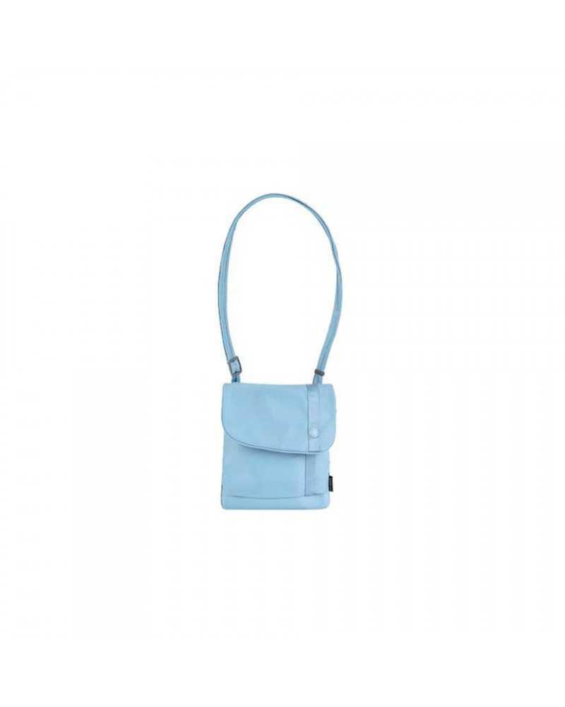 SLINGSAFE 100 LIGHT BLUE anti-theft sling purse