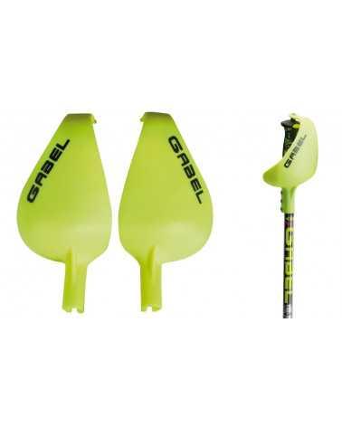 Paramani Gabel Junior colore giallo protezioni gara slalom.