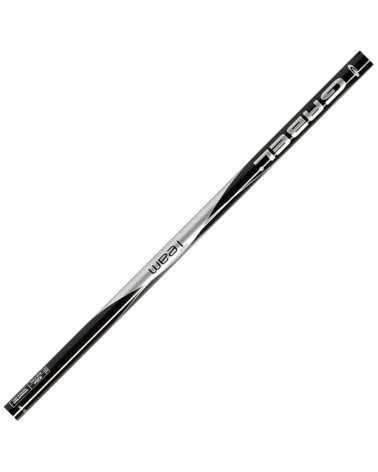 Team Black Gabel aluminium ski poles