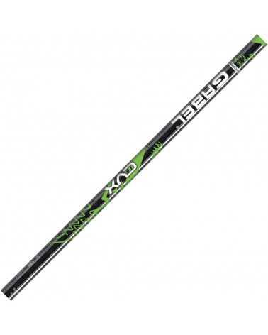CVX Black/Green Gabel aluminum ski poles