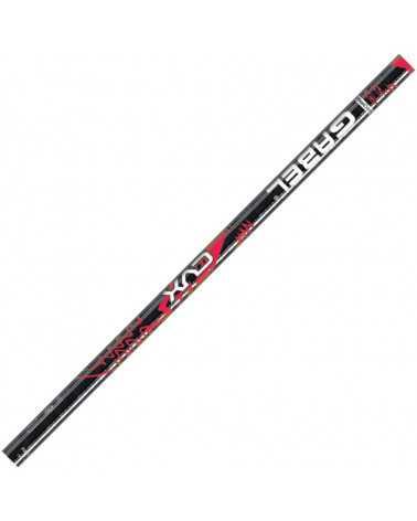 CVX Black/Red Gabel aluminum ski poles